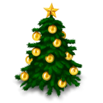 Christmas Tree by IconDrawer.com