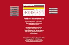 Webseite-Vorschau Hohmann Übersetzungen
