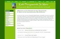 Webseite-Vorschau St. Maria Windecken